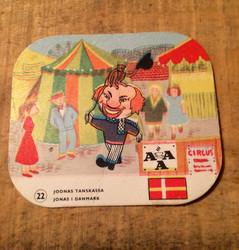 Keräilykortti Joonas Tanskassa