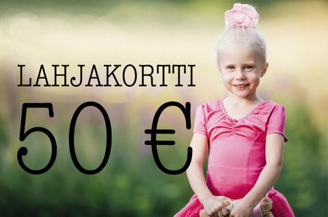 Lahjakortti 50 €