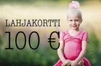 Lahjakortti 100 €