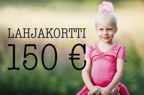 Lahjakortti 150 €