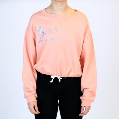 Persikan värinen paita