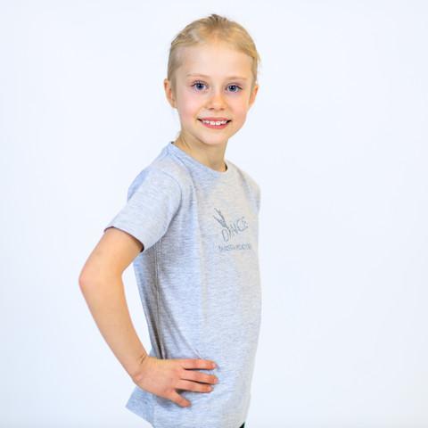Lasten T-paita, harmaa