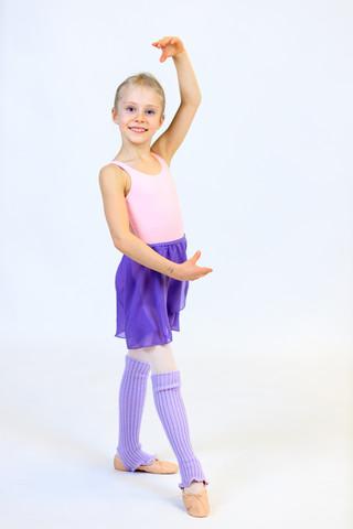 Vaaleanpunainen balettipuku