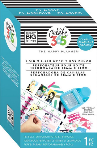 Weekly Punch Happy planner classiciin