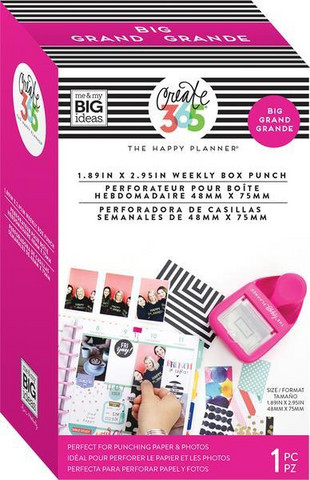 Weekly Punch Happy planner BIG/Memory keeping
