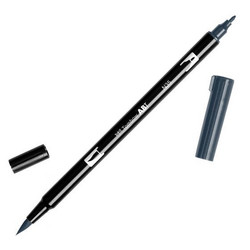 Tombow dual brush-kynä Cool grey nro. N35