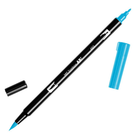 Tombow dual brush-kynä Reflex blue nro. 493
