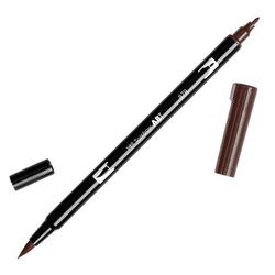 Tombow dual brush-kynä Brown nro. 879