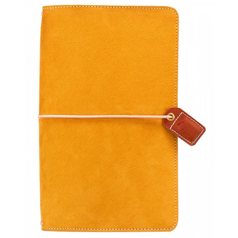 Color crush mustard Suede traveller´s notebook