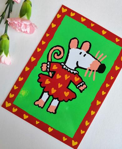 Maisa-postikortti