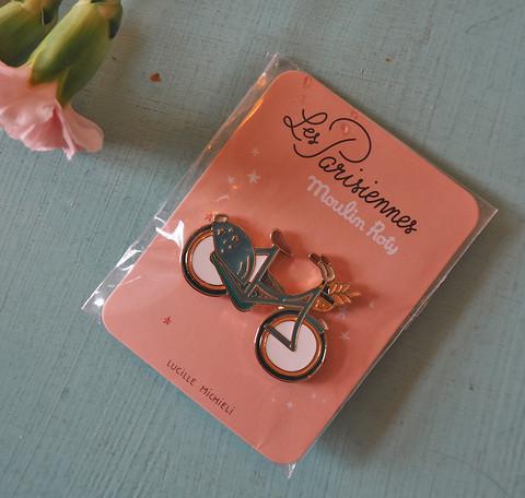 Polkupyörä-pinssi