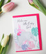 Baby girl Norsu-Postikortti, 2-osainen