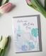 Baby boy Norsu-Postikortti, 2-osainen