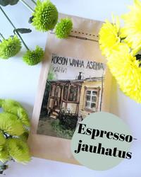 Korson Wanha asema-kahvi, espressojauhatus