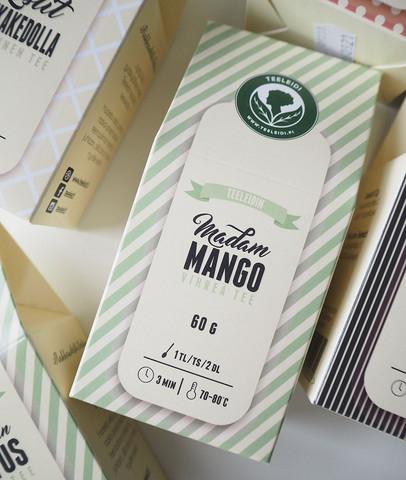 Madam Mango-vihreä tee