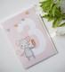 Syntymäpäiväkortti, 3-vuotias hiiri