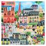 Paris in a day, 1000 palan palapeli