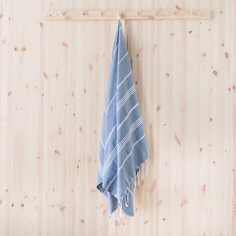 Ranta smartsize/lasten hamam-pyyhe, savunsininen