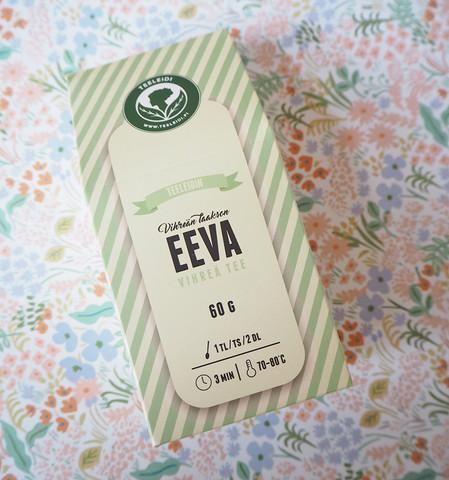 Vihreän laakson Eeva-maustamaton vihreä tee