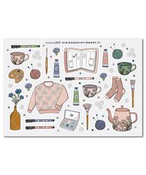 Kotoilu- kalenteritarrat, muted