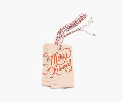 Merry Christmas-pakettikortit