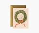 Christmas Wreath-kortti