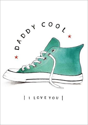 Daddy cool- 2-osainen kortti