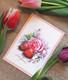 Mansikat ja ruusut-postikortti