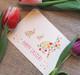 Puput ja pääsiäismunat -postikortti
