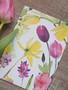 Narsissit ja tulppaanit-postikortti