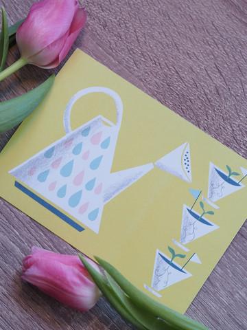 Uutta kasvua-postikortti
