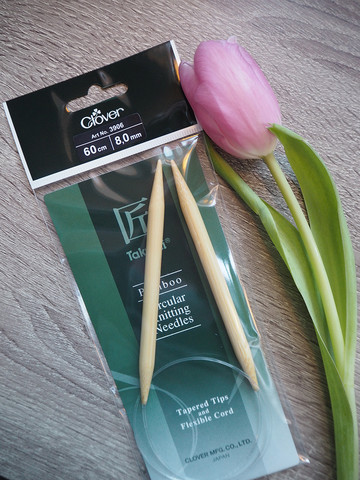 Bambu pyöröpuikot 60 cm 8.0 mm