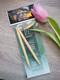 Bambu pyöröpuikot 80 cm 8.0 mm