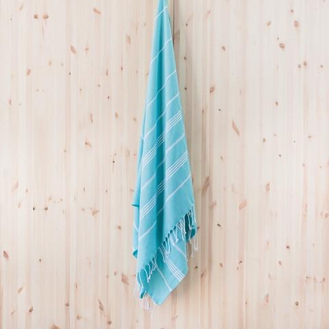 Ranta smartsize/lasten hamam-pyyhe, turkoosi kirkas