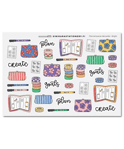 Plannertavarat-kalenteritarrat