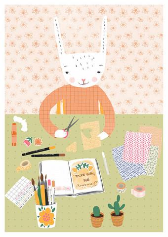 Pupu bujoilee-postikortti