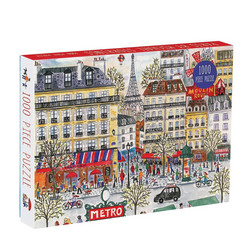 Michael Storringin Paris -palapeli, 1000 palaa. Ikäsuositus 8+