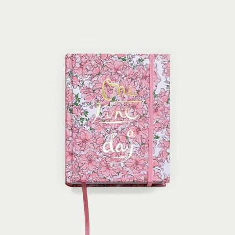 Kirsikkajuhla one line a day-3 vuoden päiväkirja