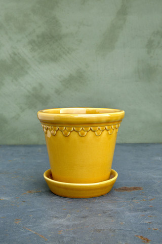 Ruukku Copenhagen Glazed yellow amber, 12 cm (vain nouto)
