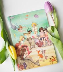 Belle & Boo merenneidot-muistivihko A5