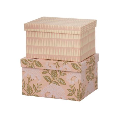 Brick duo-laatikko. Väri Himala Old rose. Laatikot myydään erikseen.