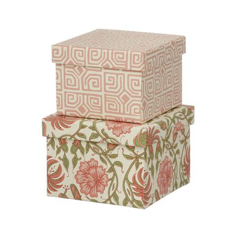 Cubic duo-laatikko. Väri Thilla Old rose. Laatikot myydään erikseen.
