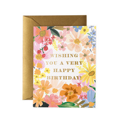 Marguerite birthday-2-osainen kortti