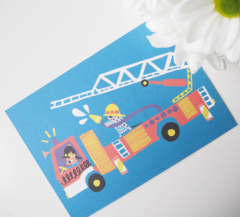Paloauto-postikortti