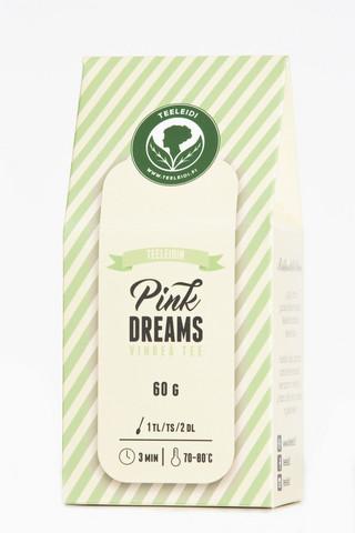 Pink dreams-vihreä tee