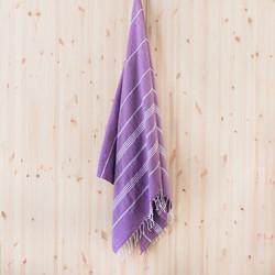 Ranta hamam-käsipyyhe, violetti