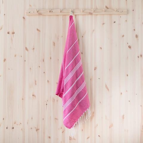 Ranta smartsize/lasten hamam-pyyhe, pinkki