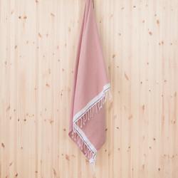 Koivu hamam-pyyhe, roosa