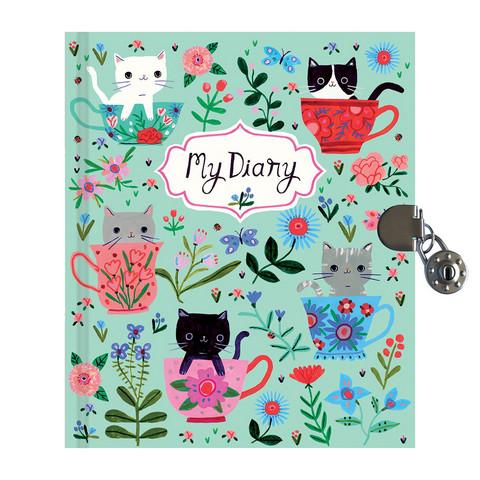 Teacup kittens-päiväkirja lukolla