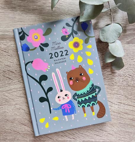 Mira Mallius kalenteri 2022